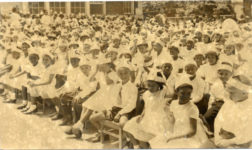 May Day Celebrations at R.S. Payne Elementary School ca. 1940s