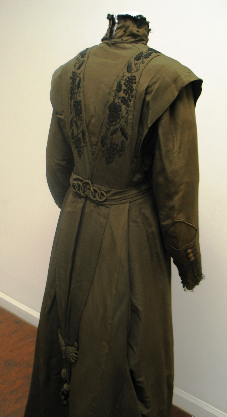 Green Dress ca 1915