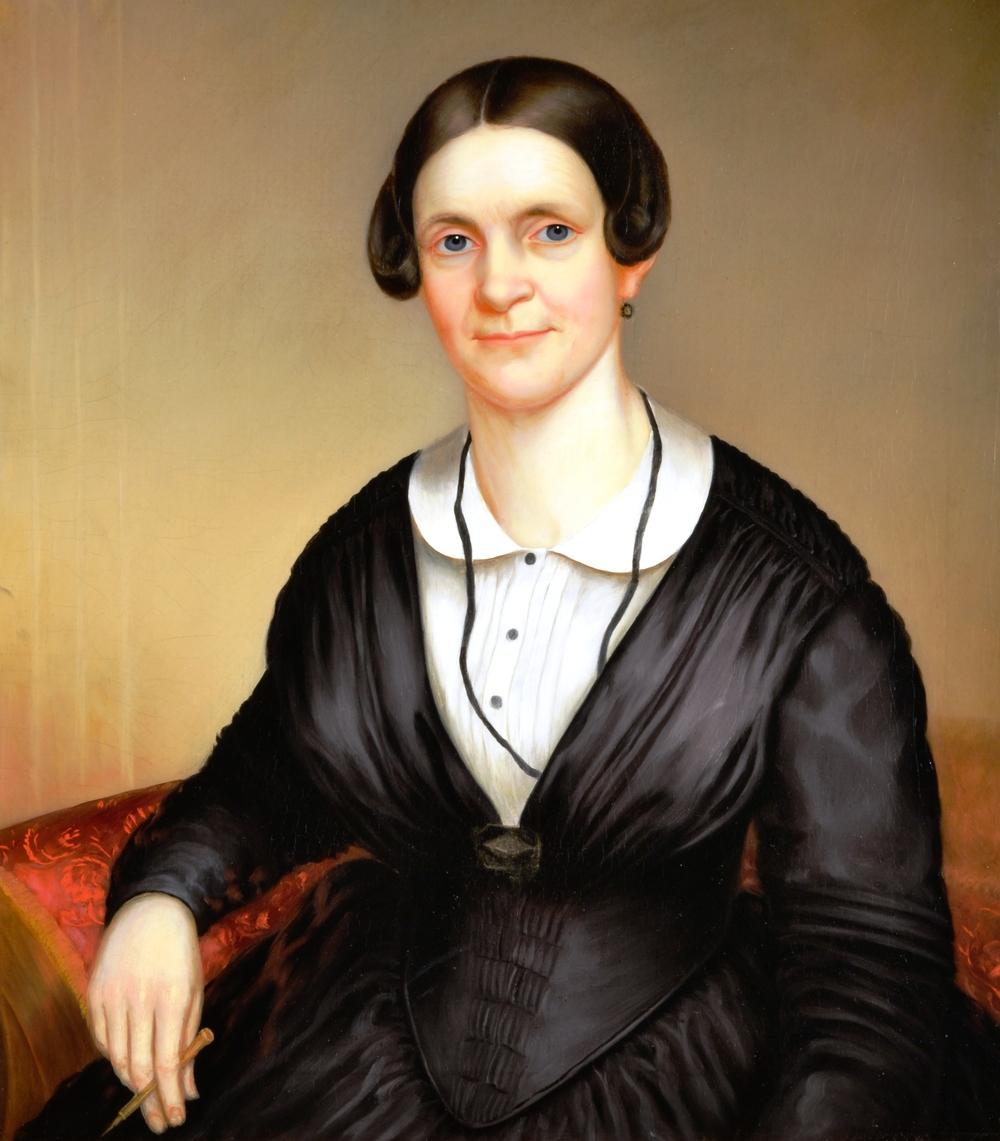 Caroline Fitz Randolph Morford Morgan ca 1845