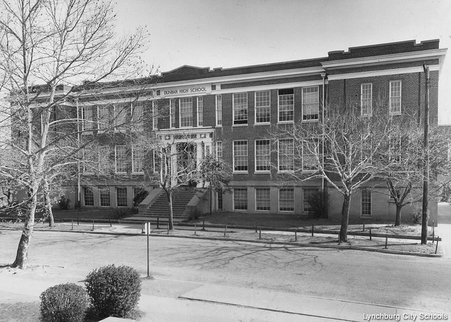 Dunbar High School (Photo courtesy of Lynchburg City Schools)