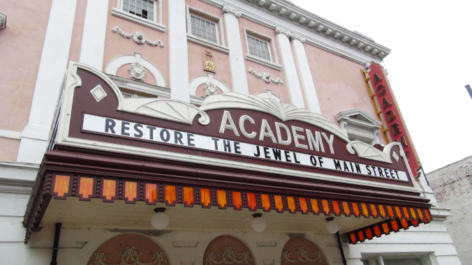 The Academy of Fine Arts as it looks today (academymusictheatre.com)