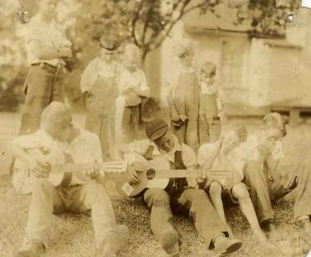"Guggenheimer-Milliken ""Playground Musicians"" in 1940."