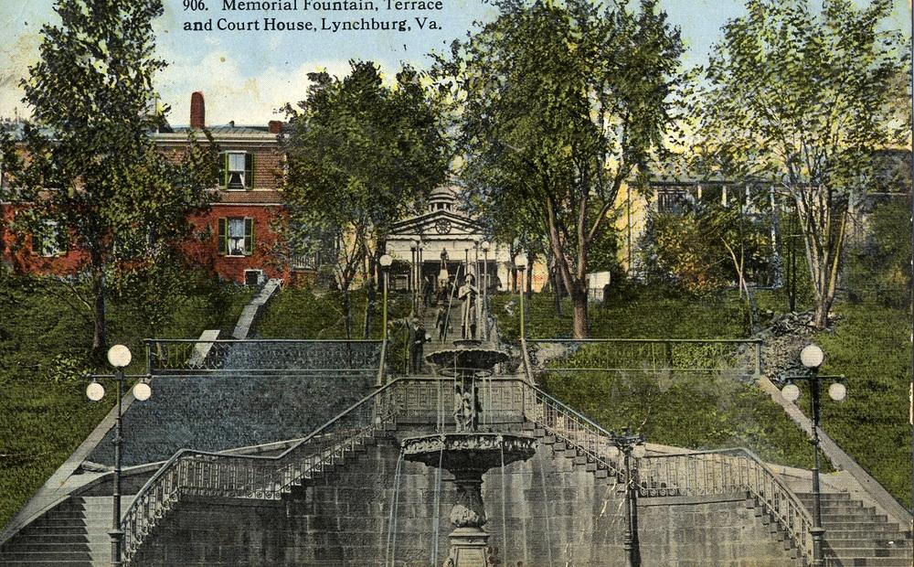 Fireman's Fountain, pre 1926