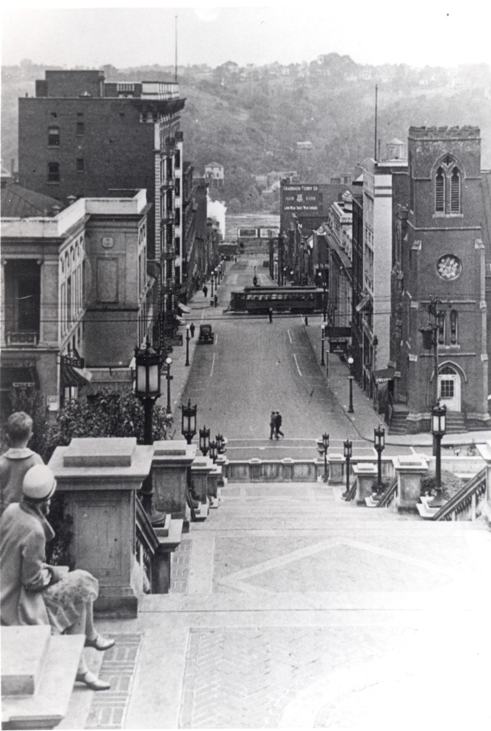 Looking Down 9th Street post 1926