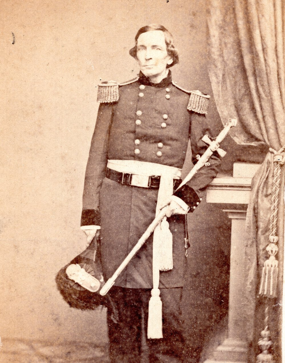General John Garland United States Army, ca. 1860. Like many families during the Civil War, the Garlands had family members fighting for both sides.