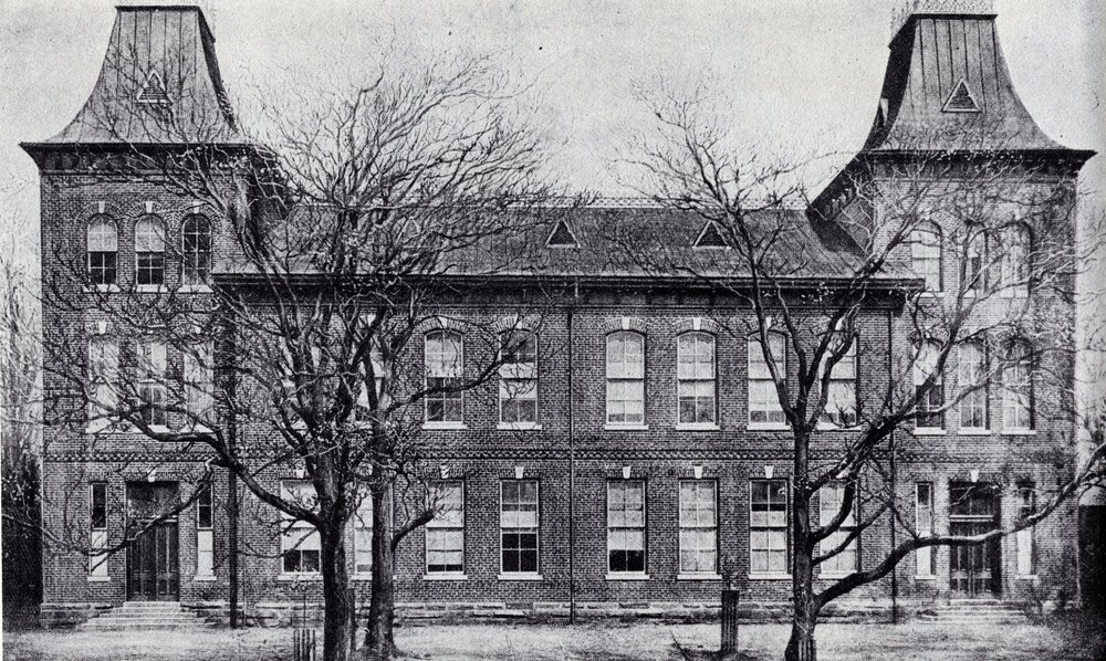 Biggers School once dominated the corner of 5th and Clay Streets. It is now the site of Biggers Playground.