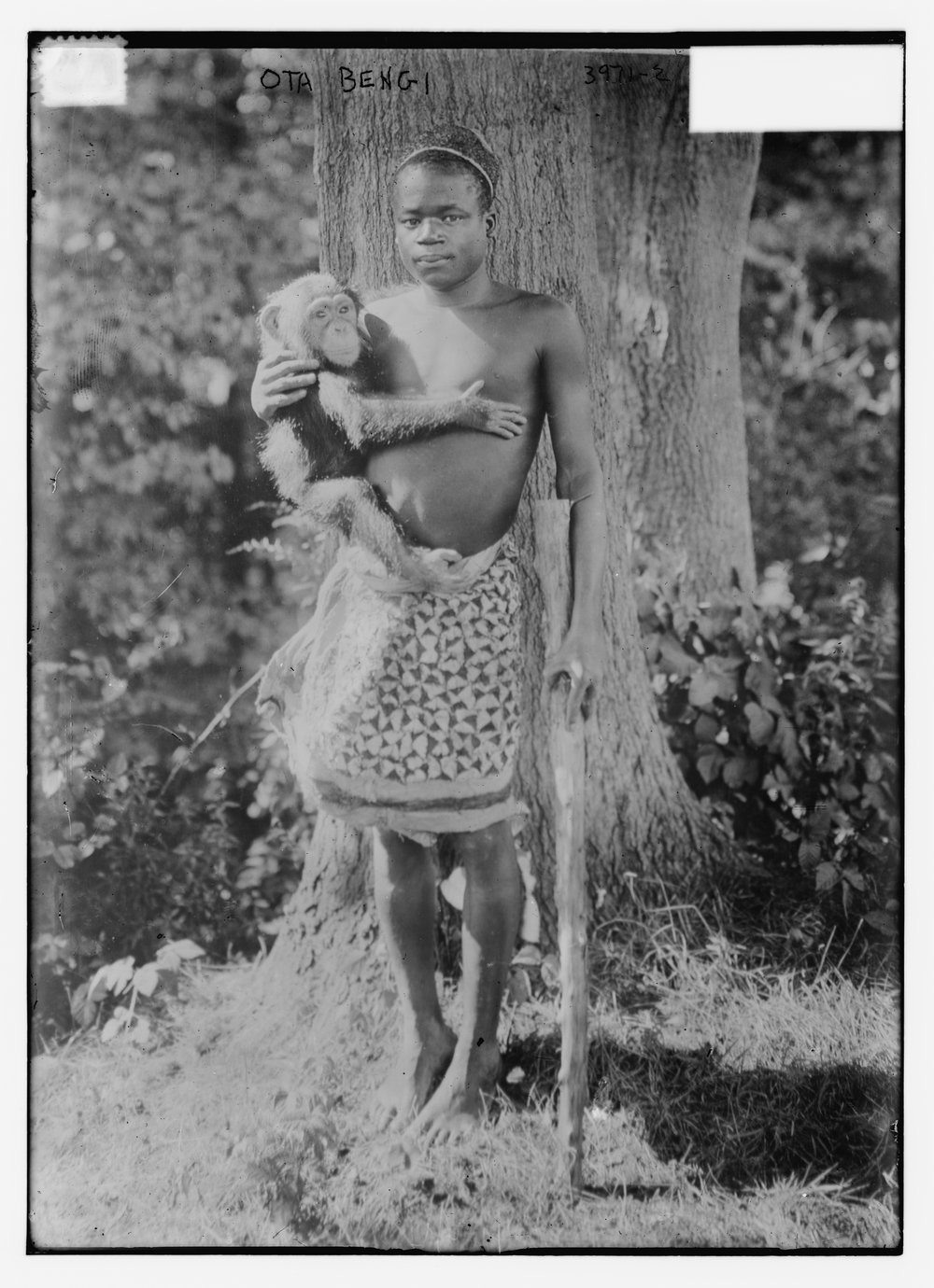 Ota Benga  he lived with faculty from the Virginia Seminary and College (now Virginia University of Lynchburg) and used to hunt in the woods nearby. One of Ota's hunting companions was Chauncey Spencer, son of poet and librarian Anne Spencer.