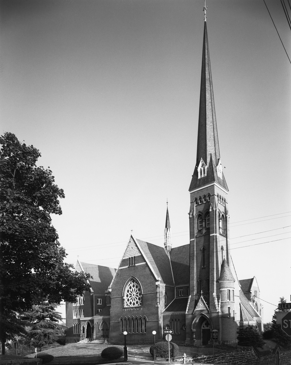 Court Street Baptist Church, 1967