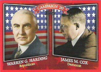 1920 Presidential Election Candidates