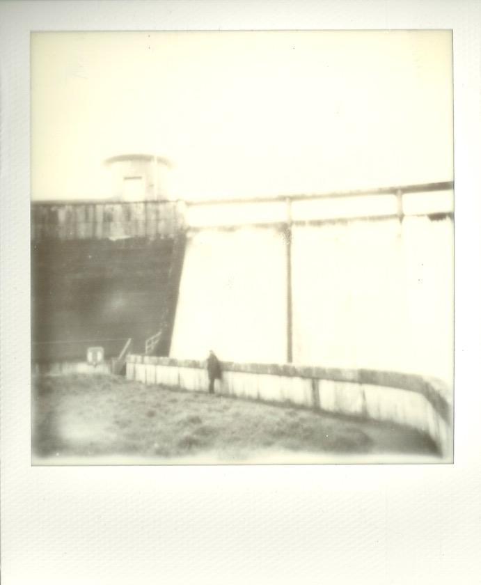 Drift Reservoir, Cornwall. Taken on my Polaroid.
