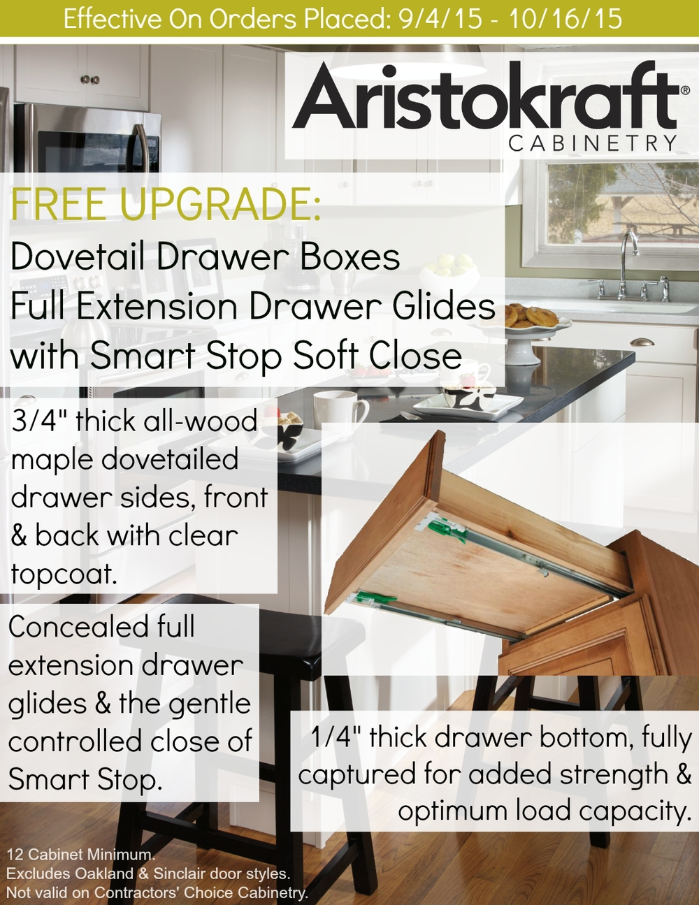 FREE Upgrade With Aristokraft Cabinets! — Andco Kitchens & Baths, Inc.