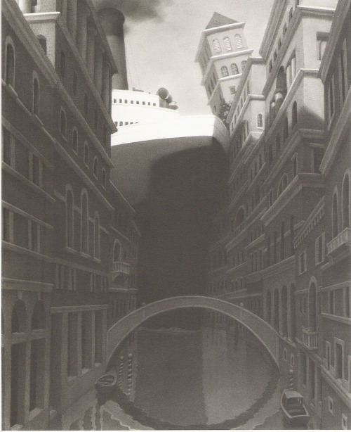 An illustration from Chris Van Allsburg's incredible  The Chronicles of Harris Burdick