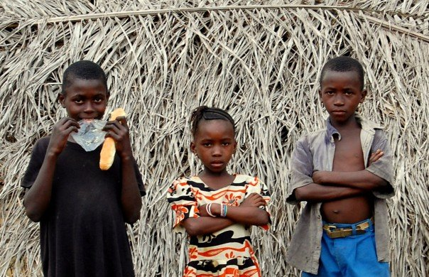 Children in Makeni, Sierra Leone