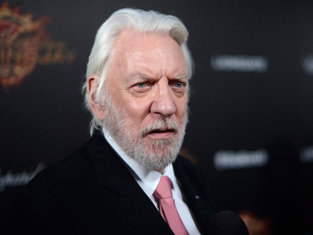 "Expatriate actor Donald Sutherland has ""a beaver wearing a cornucopia as a hat somewhere"" in his underwear.  Arthur Mola/Invision/AP"