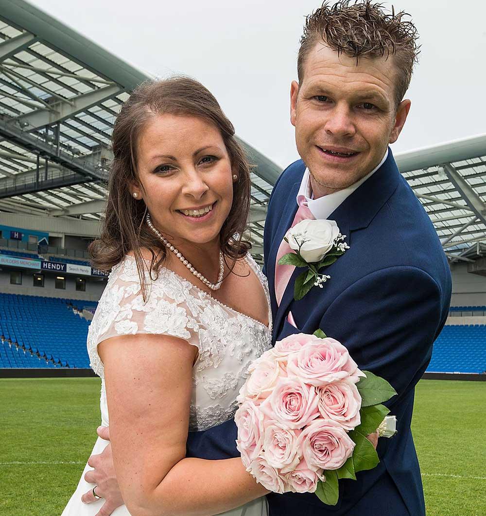 Wedding Photographer Brighton Amex Stadium