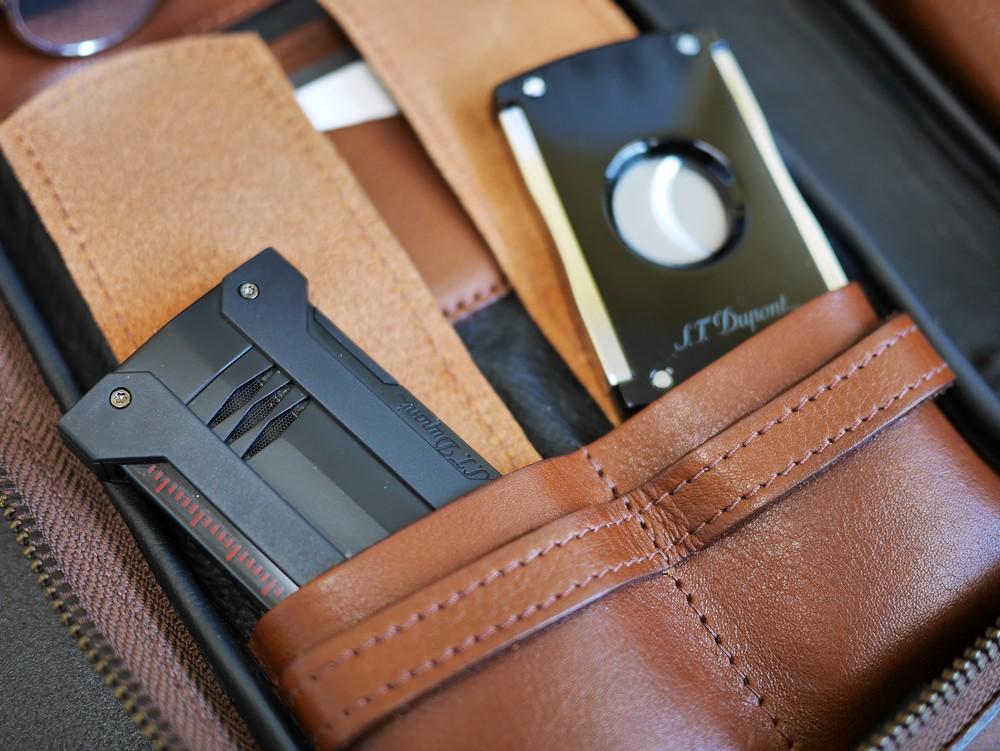 Cigar Cutter and Lighter Pocket