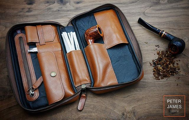 We have one 'Prototype' Peter James Pipe Case available, email or call us if you're interested! Info@peterjames.ca | 1(888)342-6656 #myPJcase