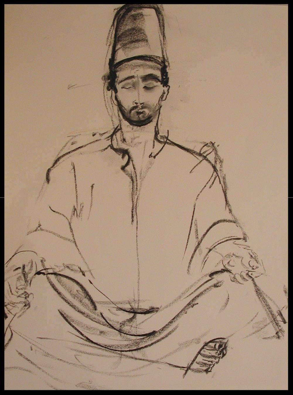 Meditating Dervish