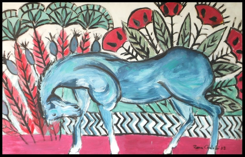 Horse In Pharaonic Style
