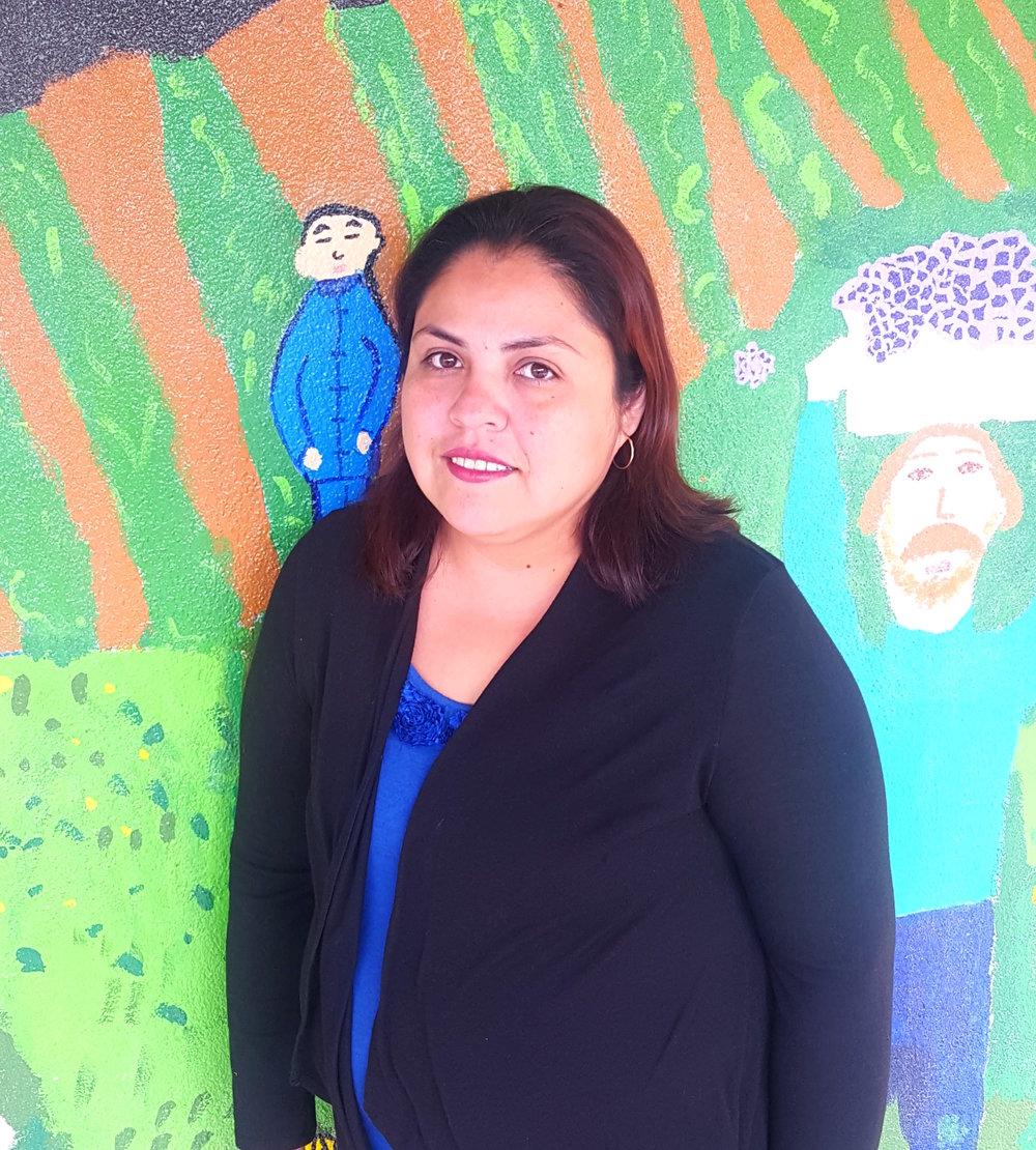 Ana Rios: Coordinadora en la escuela El Verano