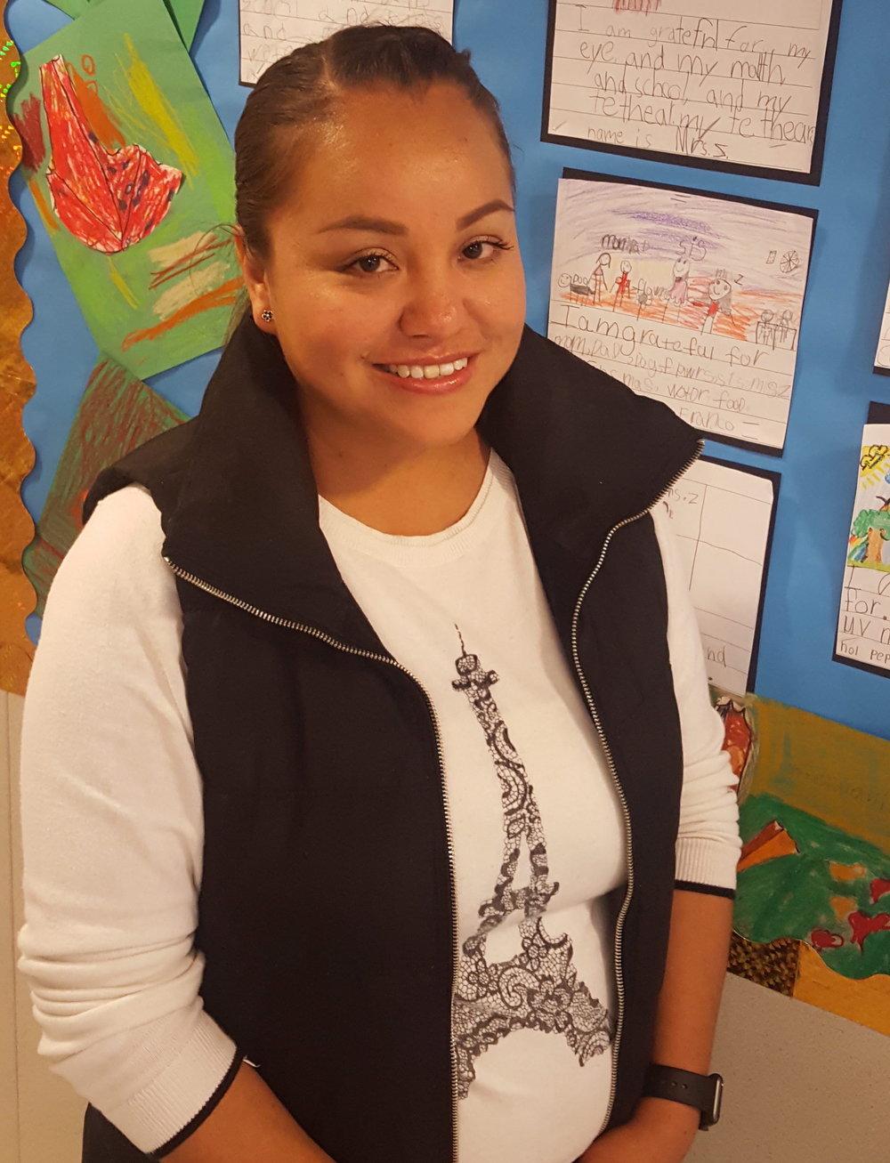Delia Chavez: Coordinadora de la escuela Sassarini