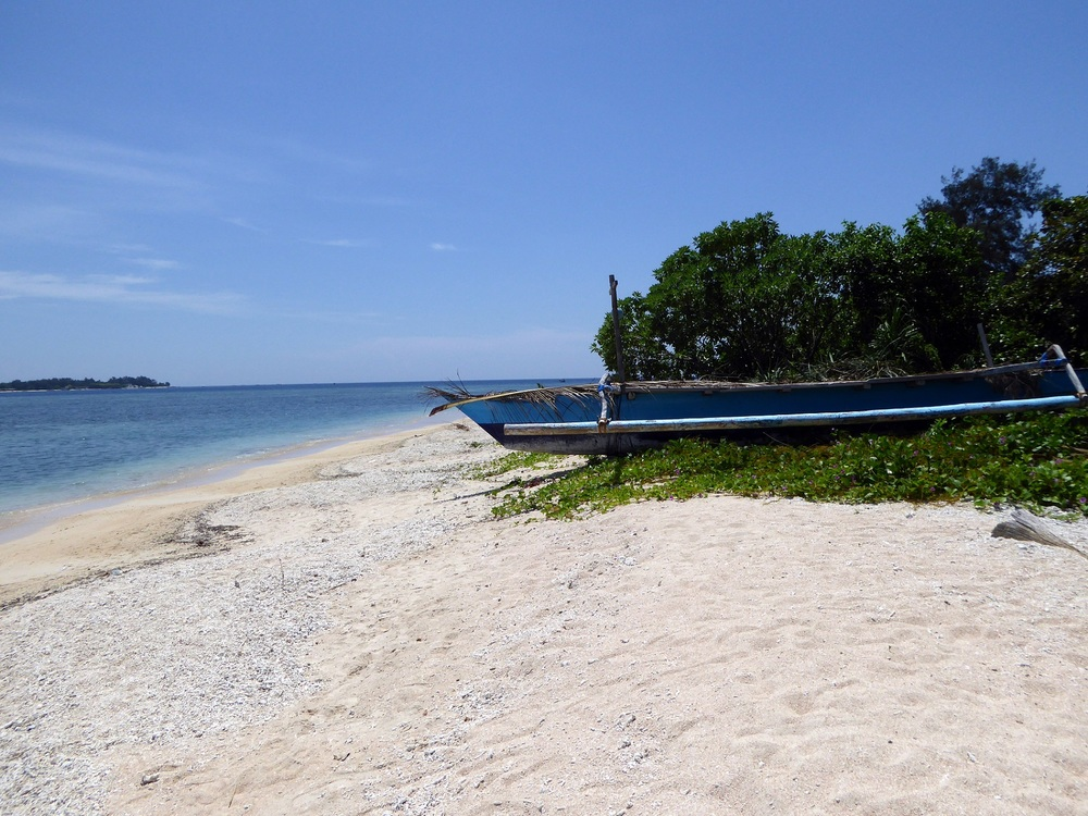 Strand auf Gili Air - Bali