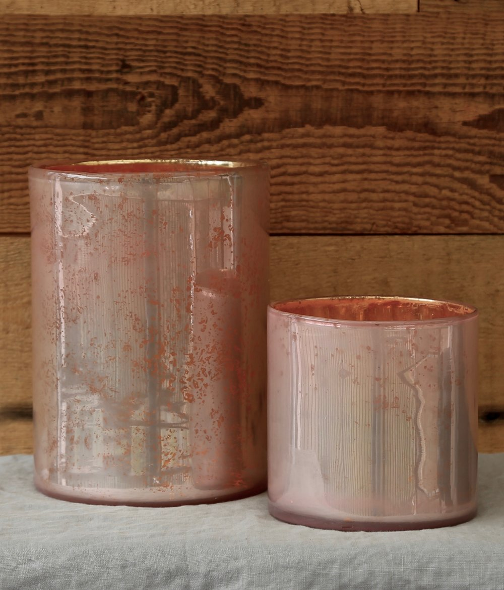 Rose Gold Vases