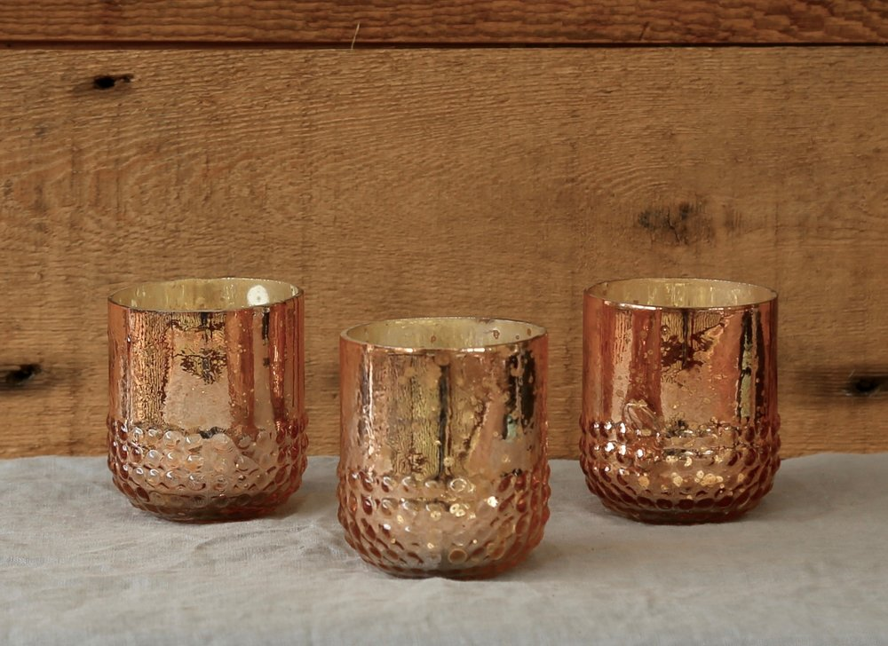 Rose Gold Small Votive