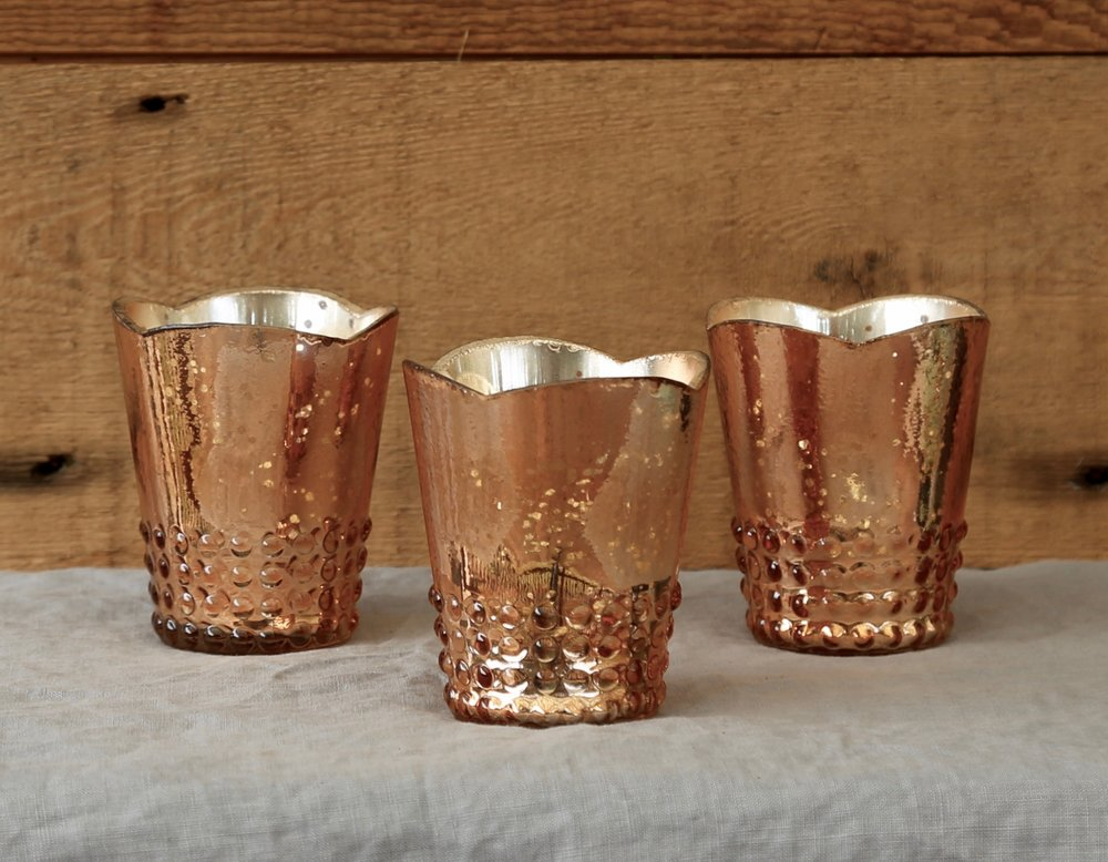 Rose Gold Standard Votive