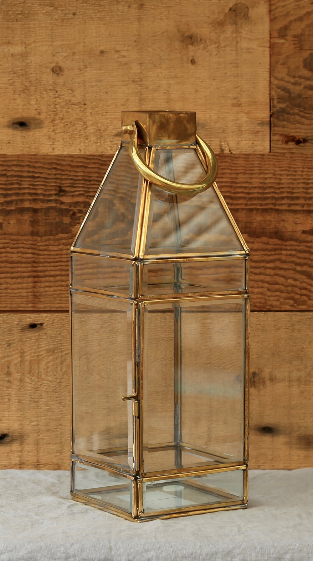 Glass Lantern - Midsize