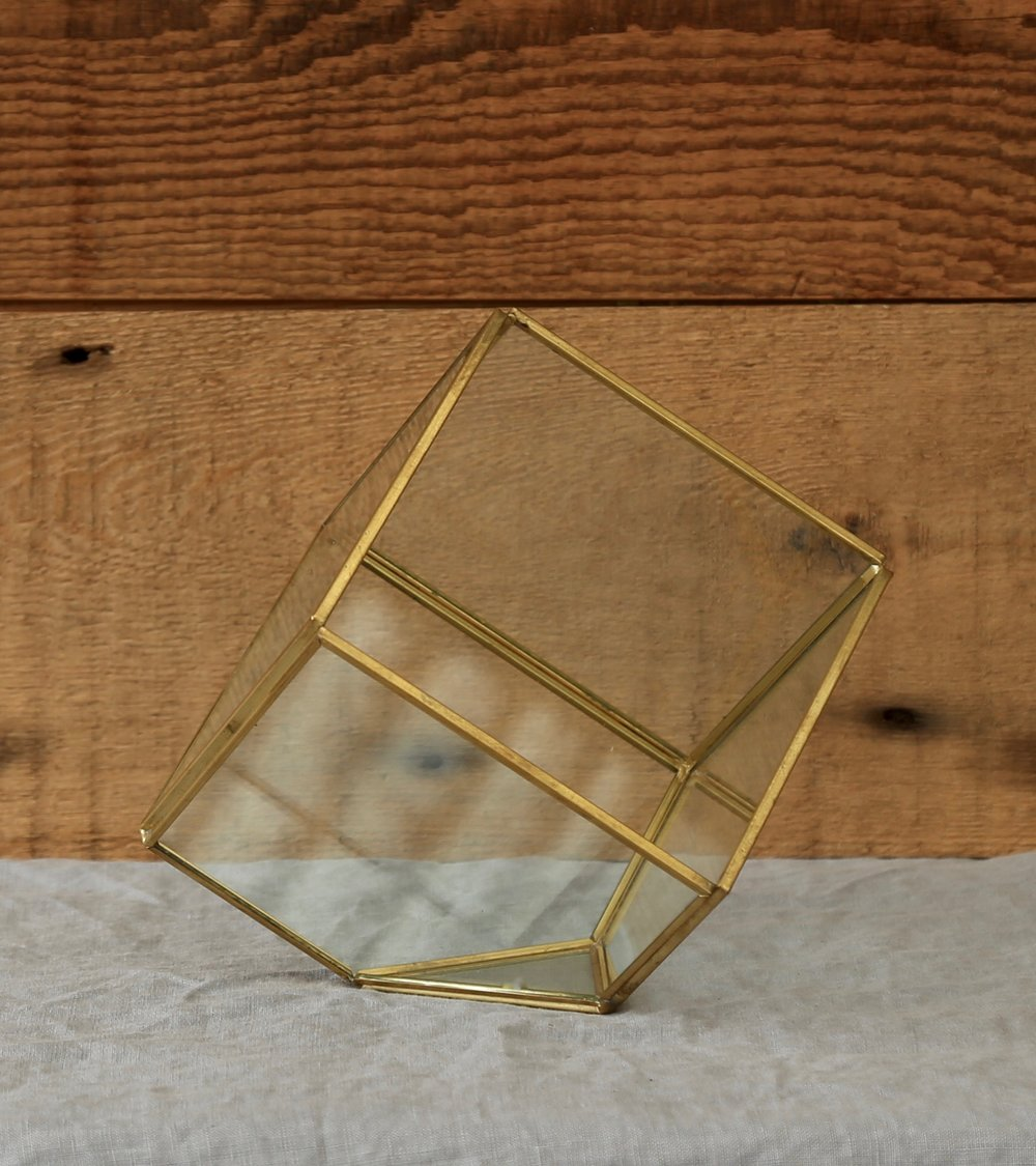 Square Glass Display Box