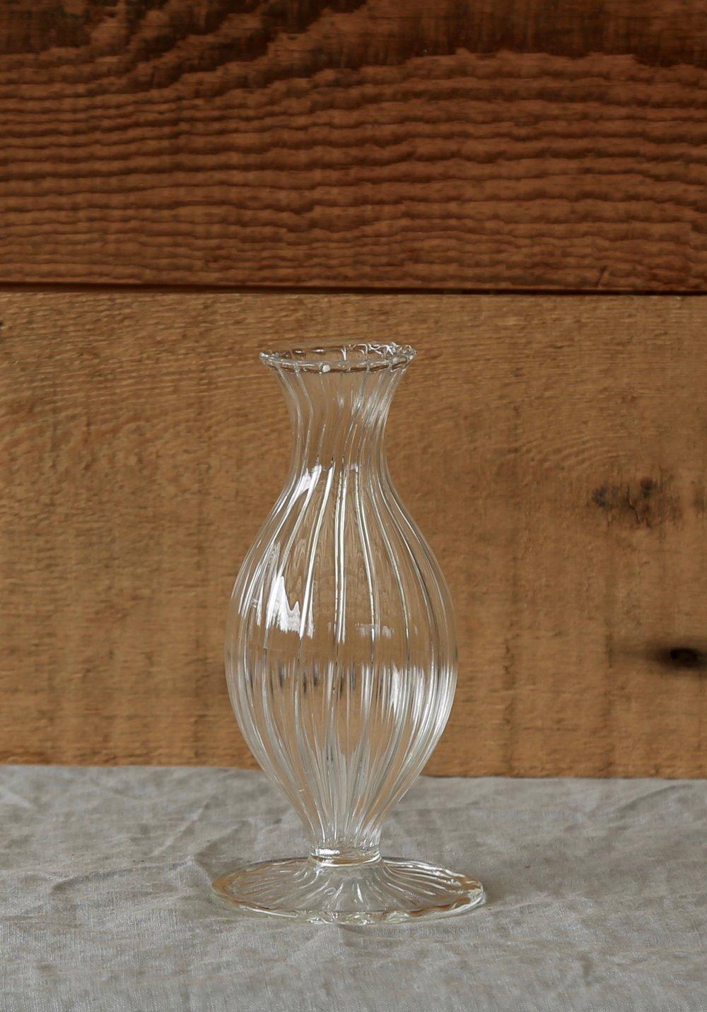 Glass Standard Bud Vase