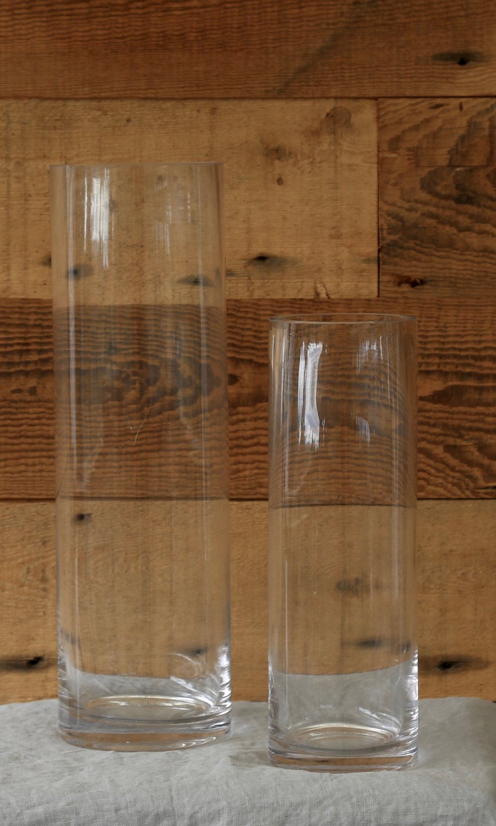 Cylinder Glass Vases