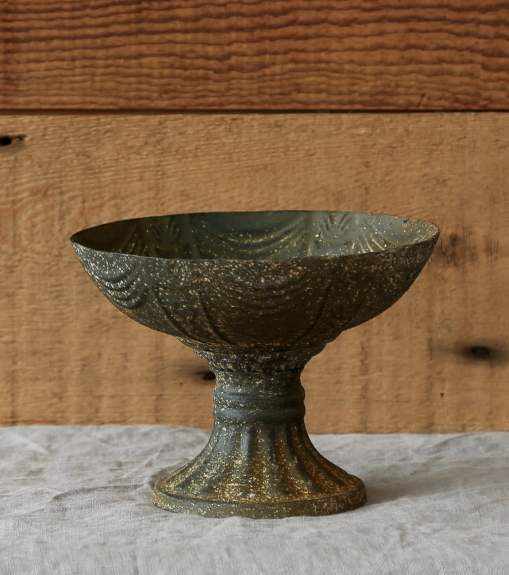 Metal Speckled Compote