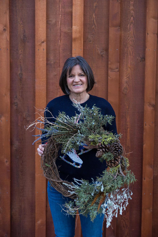 Summer Robbins Flowers Holiday Wreath Workshop FivePine Lodge Sisters Oregon-083.jpg