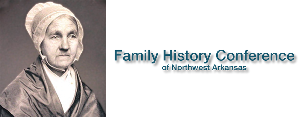 The Family History Conference of Northwest Arkansas is a free genealogy seminar for beginning, intermediate and experienced genealogists.