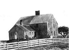 John Alden house , built 1653