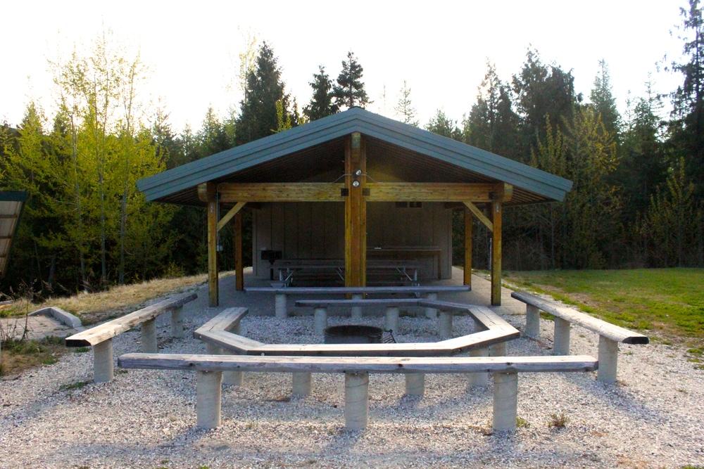 Pavilion & Fire Pit