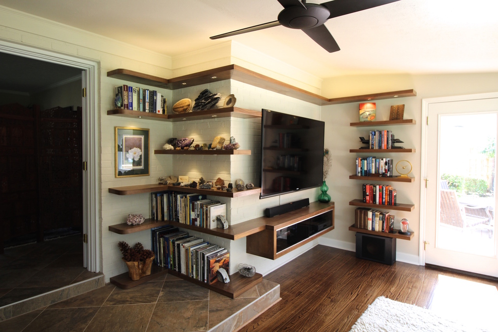 Mcm Design mcm shelving 2x4 designs wilmington nc custom home residential