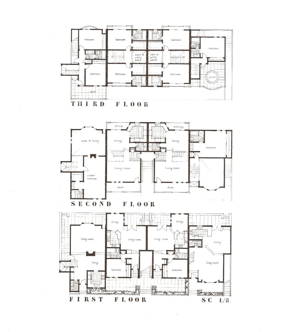 Drawings valerie c simpson architect associates for Architect associates