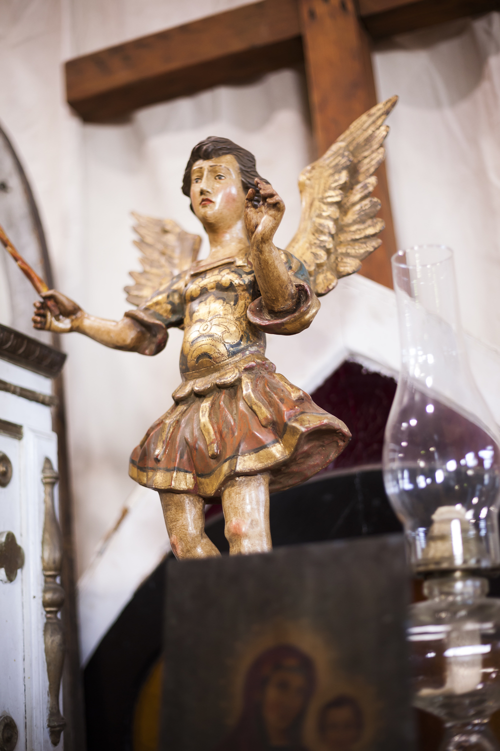 Roman Catholic Antique Angel