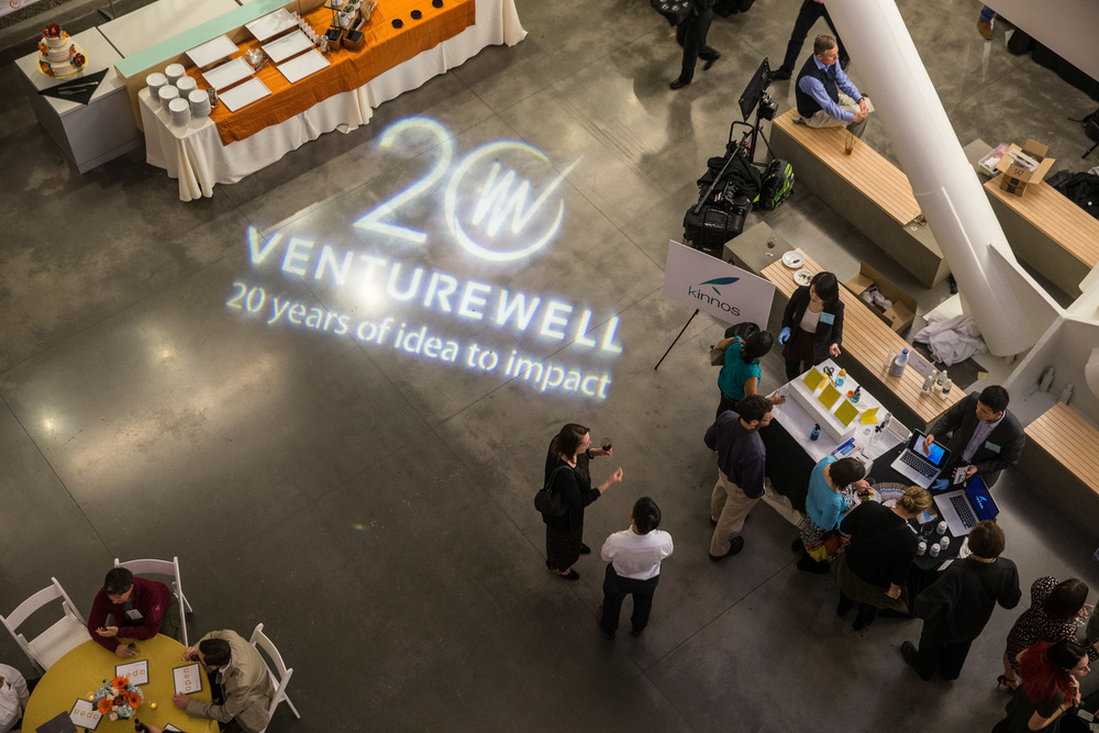 Demoing at VentureWell Open in March 2016.