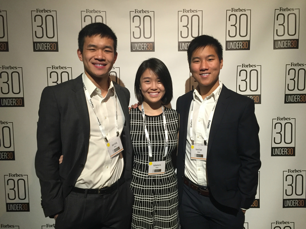 Forbes 30 Under 30 event in January 2016.
