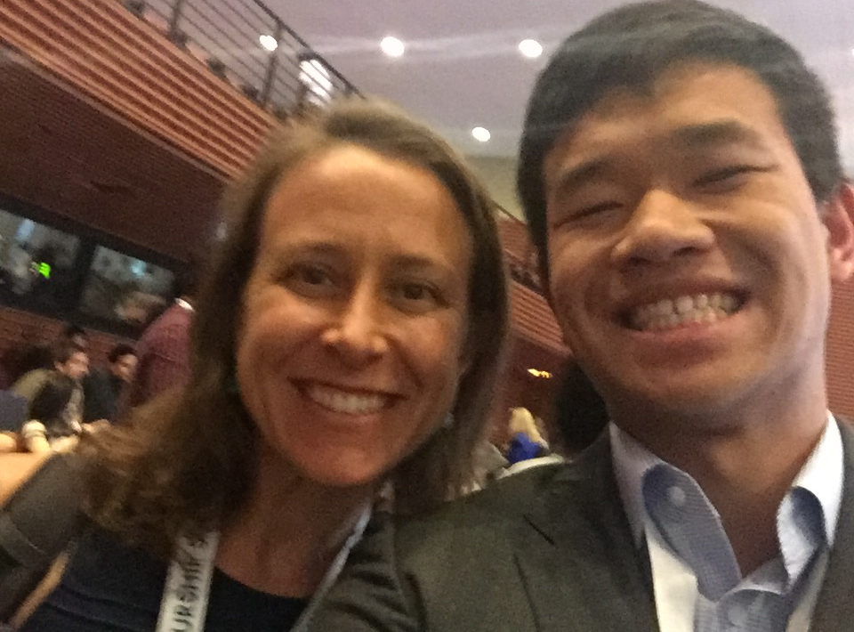 Selfie with Anne Wojcicki!