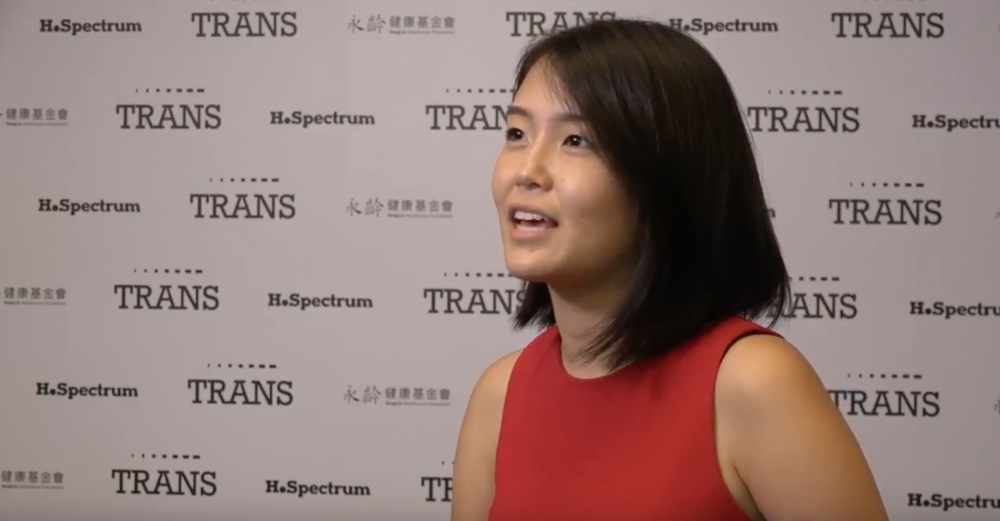 Katherine was invited to Taipei as a keynote speaker for the TRANS Healthcare Conference
