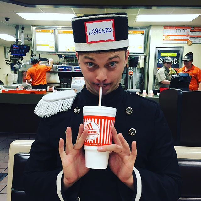 Nothing better than some @whataburger after a night of #networking.