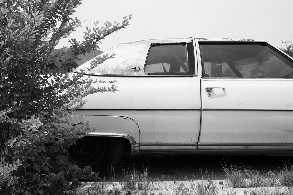 Car.  Hawthorne, Nevada. May 2014.