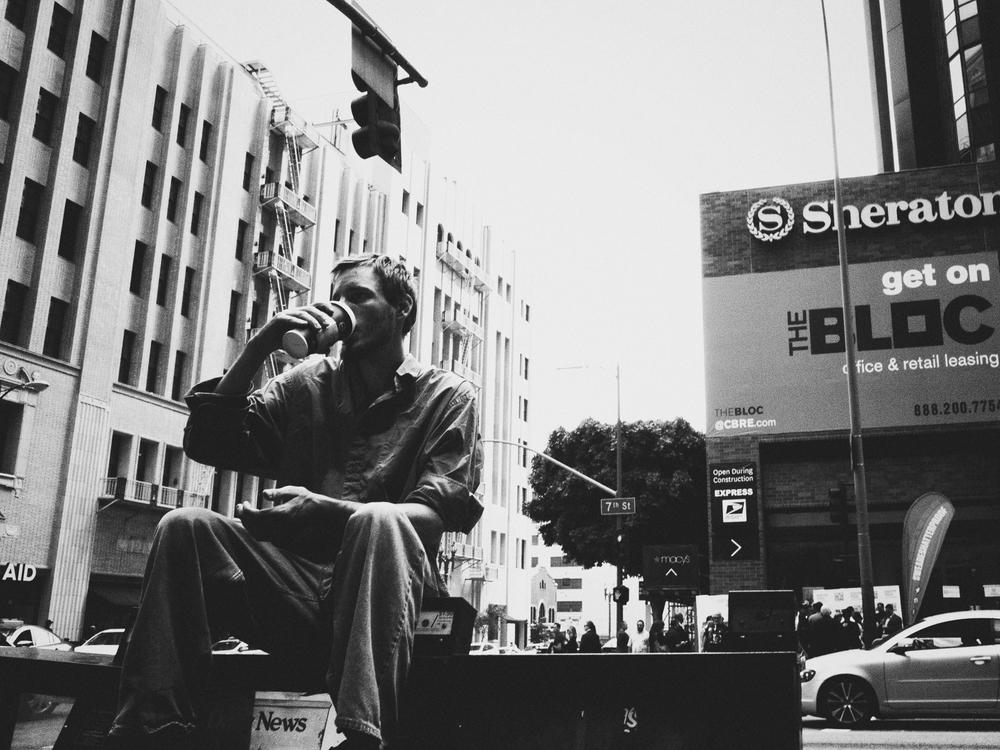 Downtown LA. June 2015.
