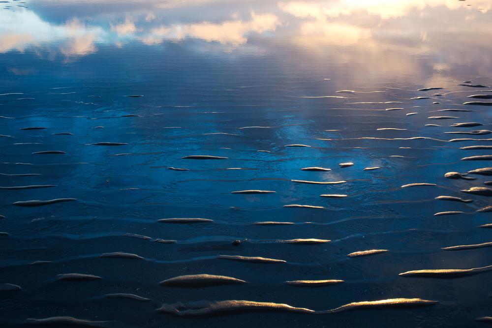 Solstice reflections. Homer, Alaska. December 2015.