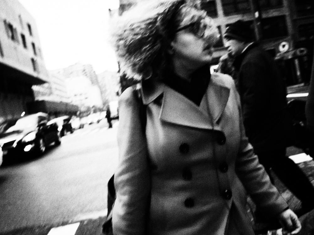 Windswept. Manhattan.